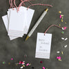 Our multi color, stripe gift tags are perfect for all kinds of gifts.