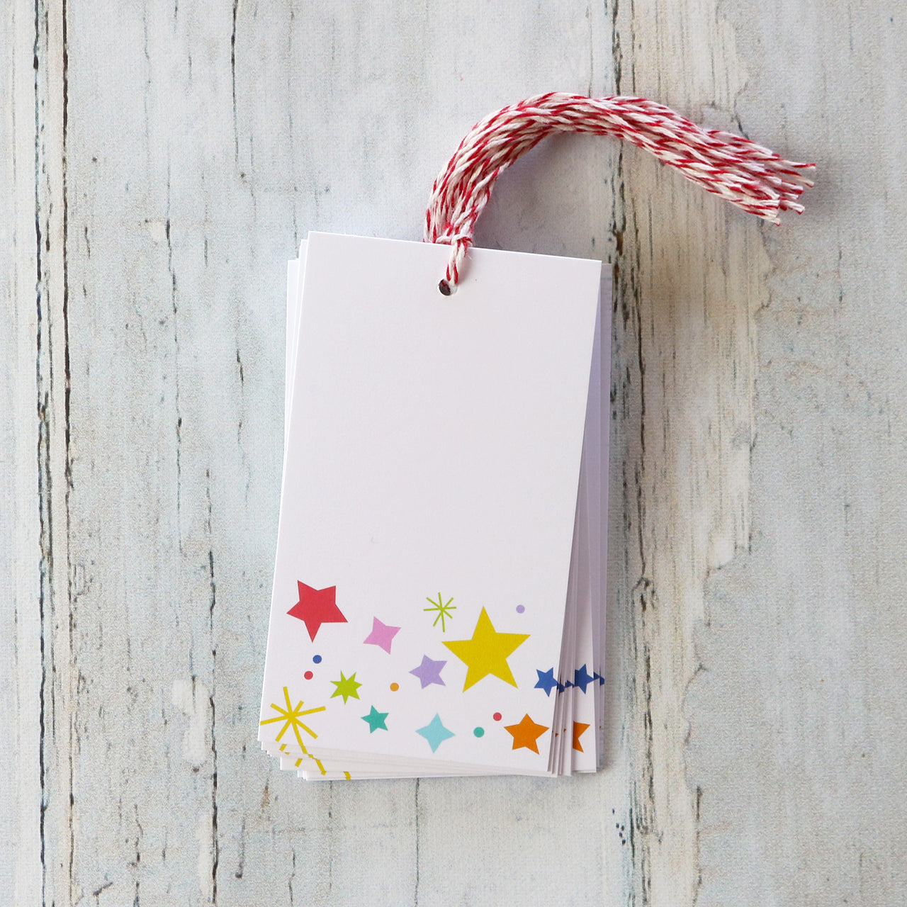 Star Confetti Gift Tags