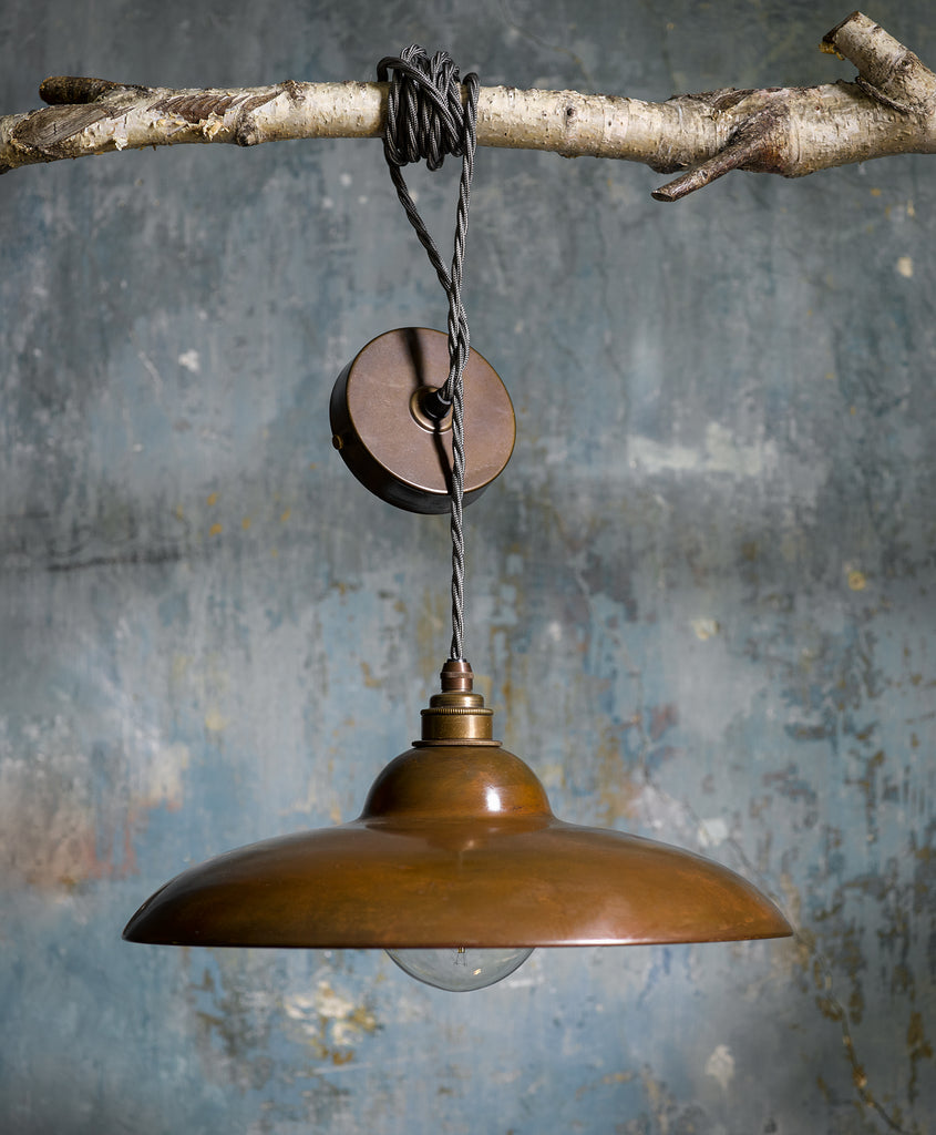 Copper Saucer Pendant | Olive & the Fox