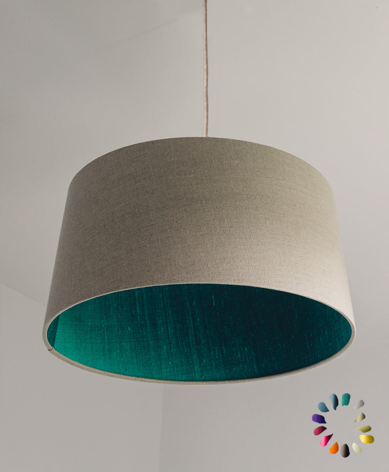French Drum Pendant Shade