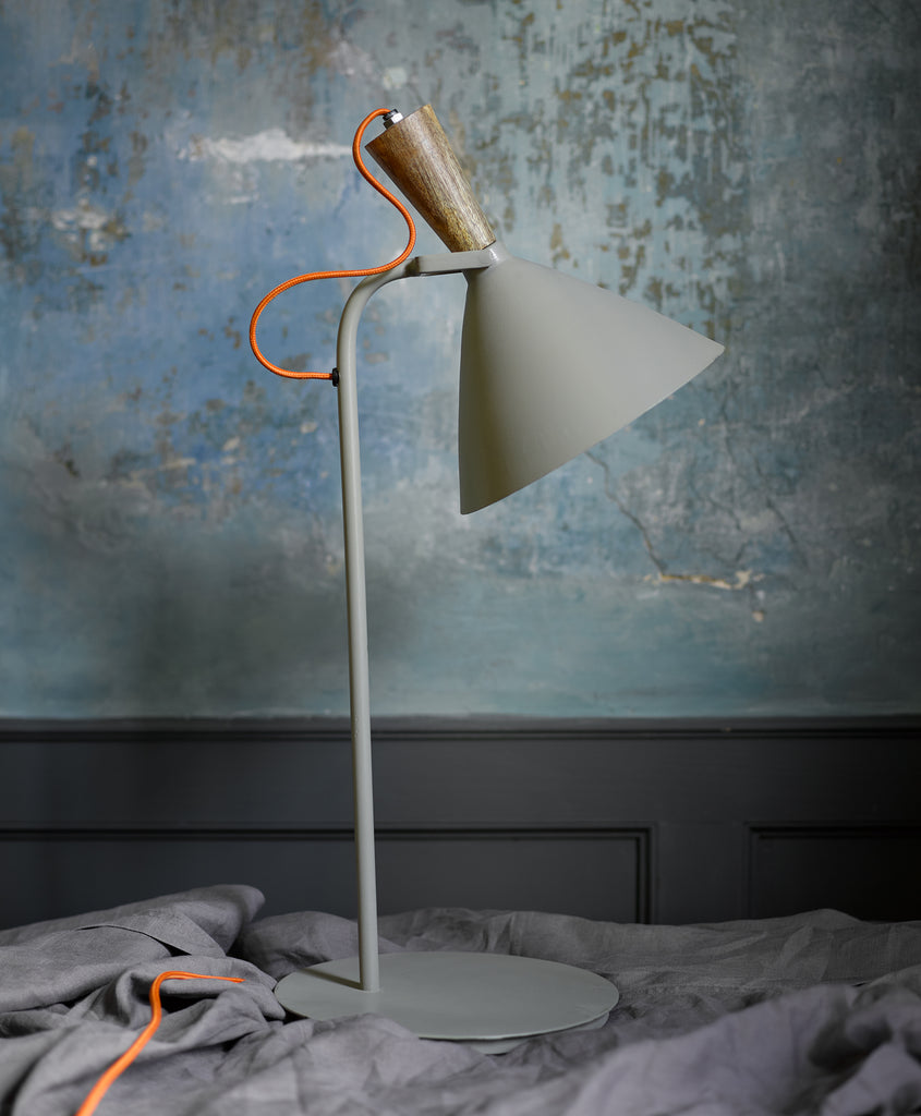 Painted Metal Task Lamp