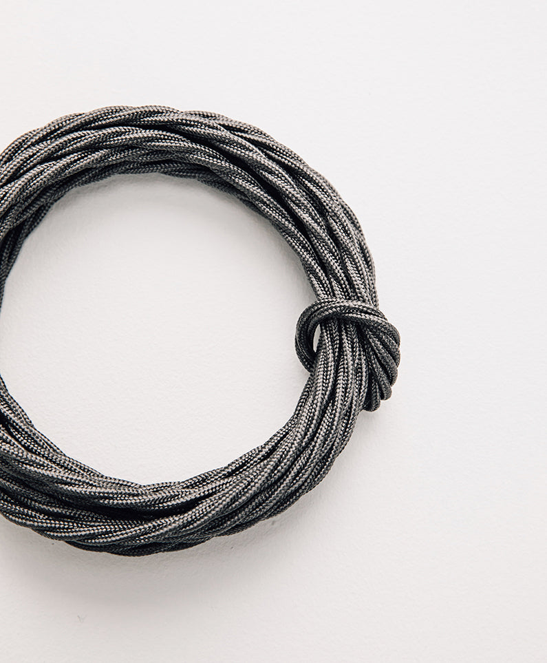 Grey Twist Cable