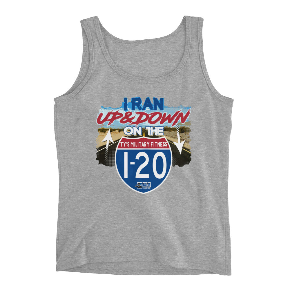 """I-20"" Regimen Ladies' Fitness Tank Top"