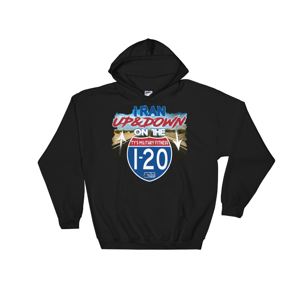"""I-20"" Men's Fitness/Causal Regiment Hoodie"