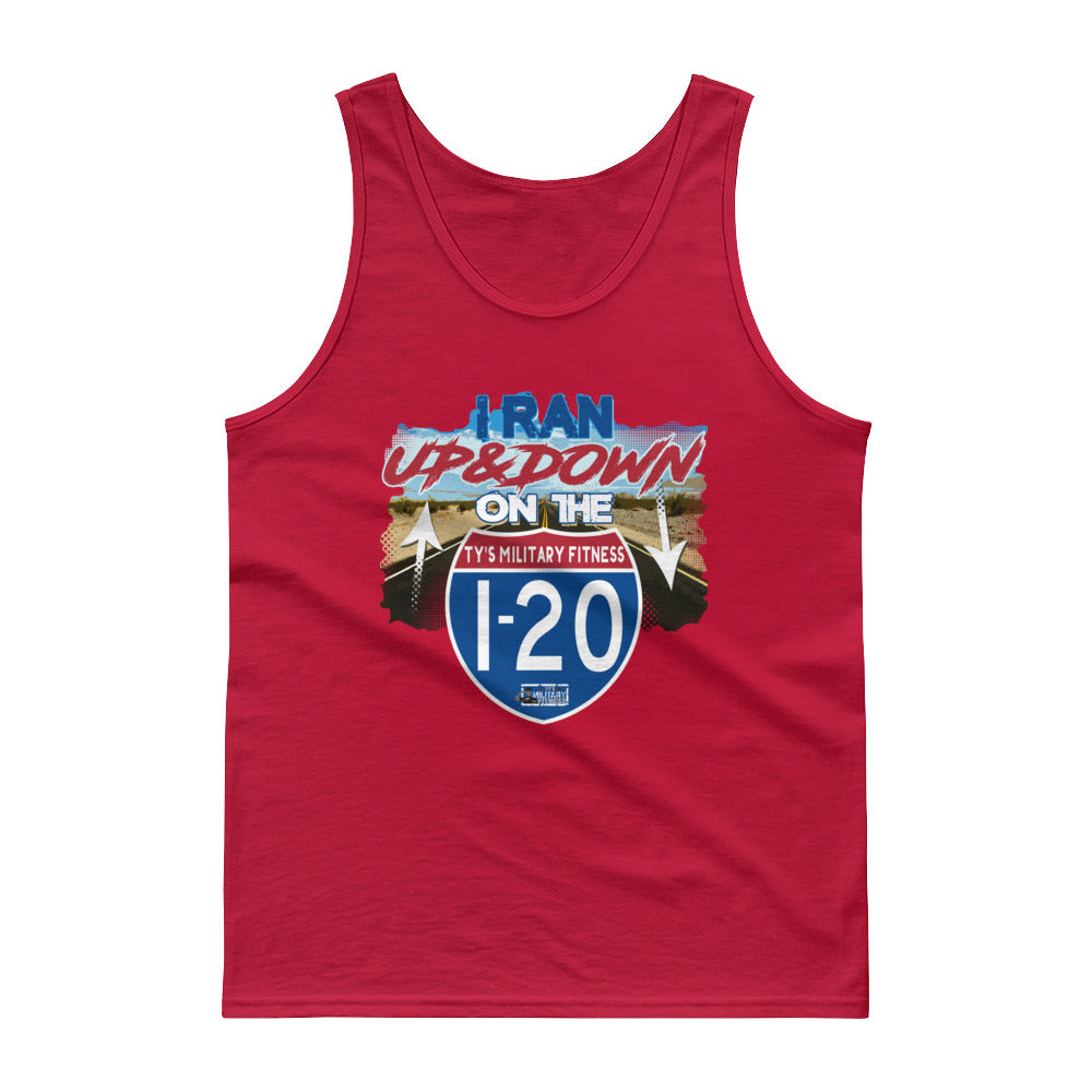 """I-20"" Regimen Men's Fitness Tank Top"