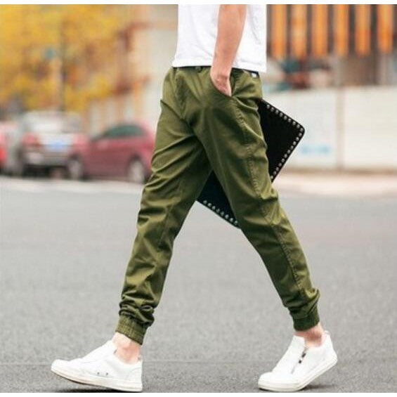 """TMF"" Nine Points Casual Pants"