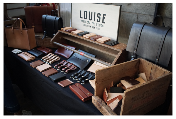 Wallets and leather goods at Flea Market