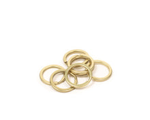 Brass Split Rings