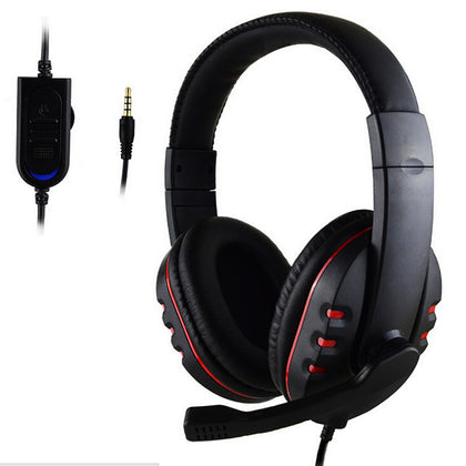 Marsnaska Over-ear Gaming Headphone Headset w/Earphone Headband and Mic PLUS Stereo Bass for ps4