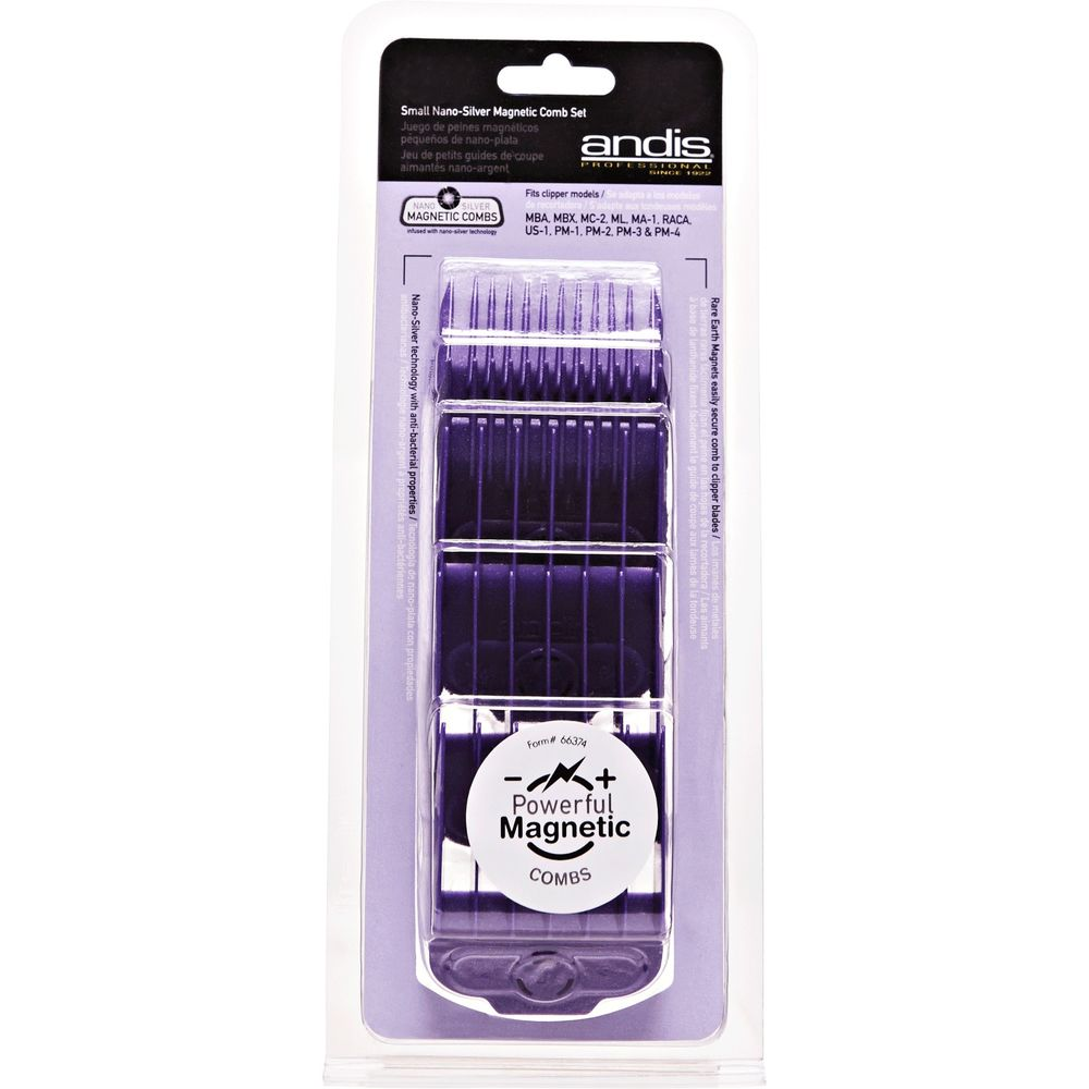Andis Magnetic Gaurds - 5 Piece Comb Set