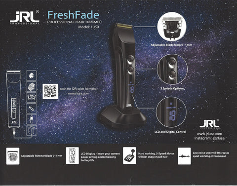 Image of JRL FreshFade 1040 Cordless Clipper