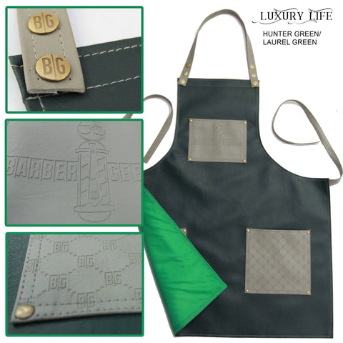 "Image of Barber Geeks ""Luxury Life"" Apron"