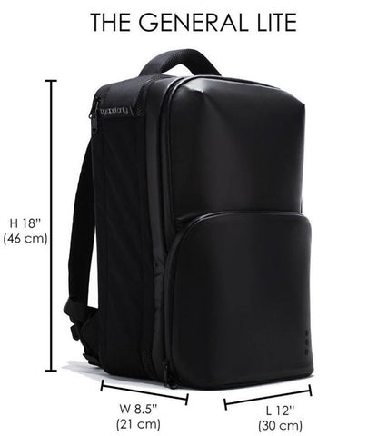 "ByApptOnly Barber Backpack ""The General LITE """