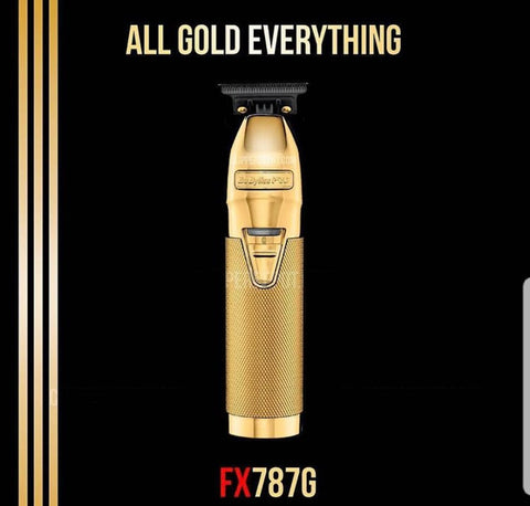 Gold BaByliss PRO® FX 787 G Trimmer (Skeleton Trimmer)