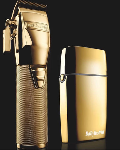 Image of Gold BaByliss PRO® FOILFX02 ™ Cordless Gold Metal Double Foil FXFS2 Shaver
