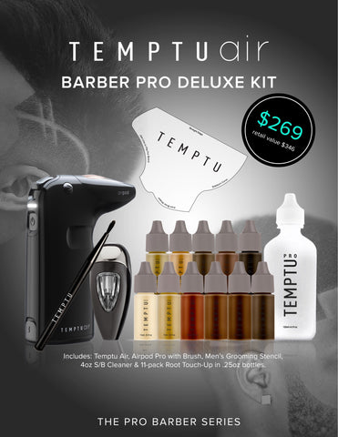 Image of Temptu Barber Pro Deluxe Kit