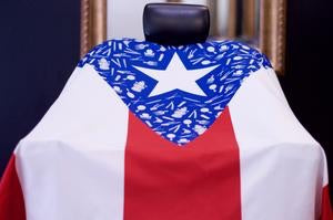 King Midas Puerto Rico Flag Cape