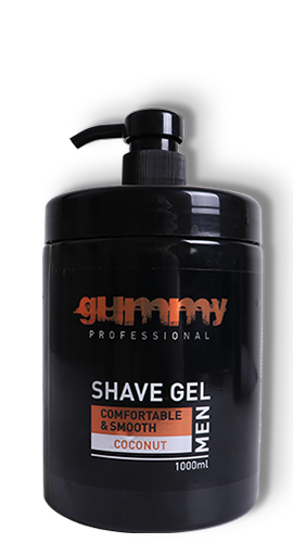 Gummy Shave Gel Coconut 1000ml