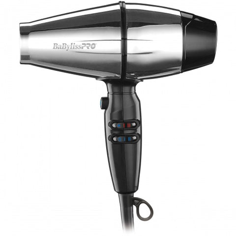 BaByliss PRO® STEELFX Stainless Steel 2000-Watt Hair Dryer BABSS8000