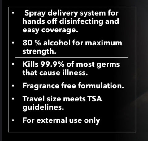 IC Fantasia Spray Disinfectant