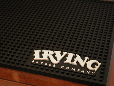 Irving Barber Company Work Station Mat