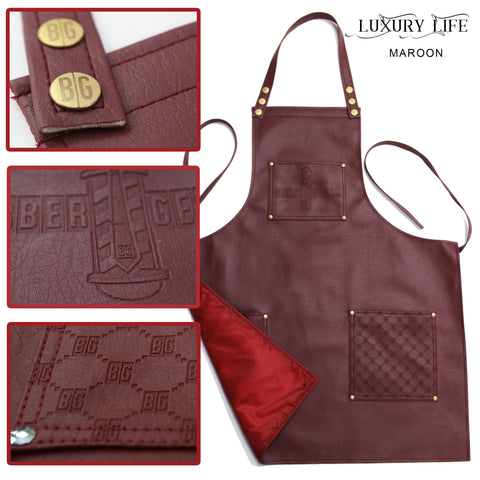 "Barber Geeks ""Luxury Life"" Apron"