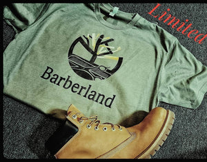 Barberland T Shirt ( CutJunkies Limited)