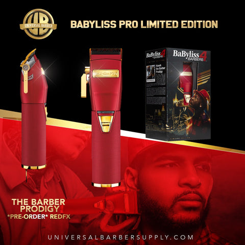 Babyliss Pro Influencer Collection Clippers (REDFX)