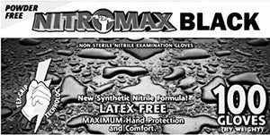 Nitromax Black Gloves