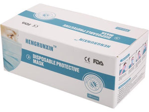Disposable Protective Mask (50 Pack)