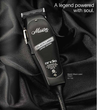 Andis Black Label Limited Edition Master Clipper