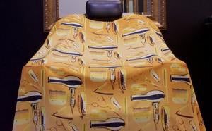 King Midas Goldmatic Barber Cape