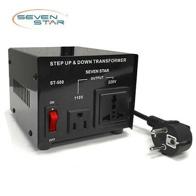 Image of Seven Star st 300 Step Up/Down transformer