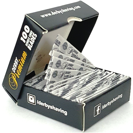 Derby Single Edge Blades (100 Pack)