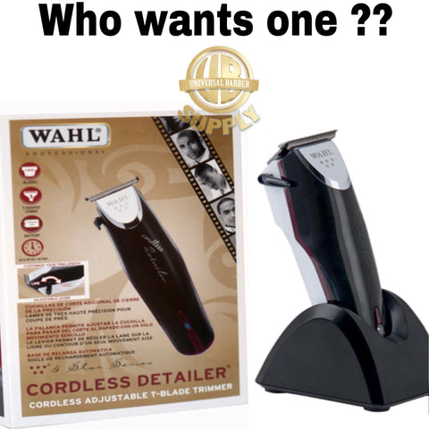 Image of Wahl Cordless Detailer