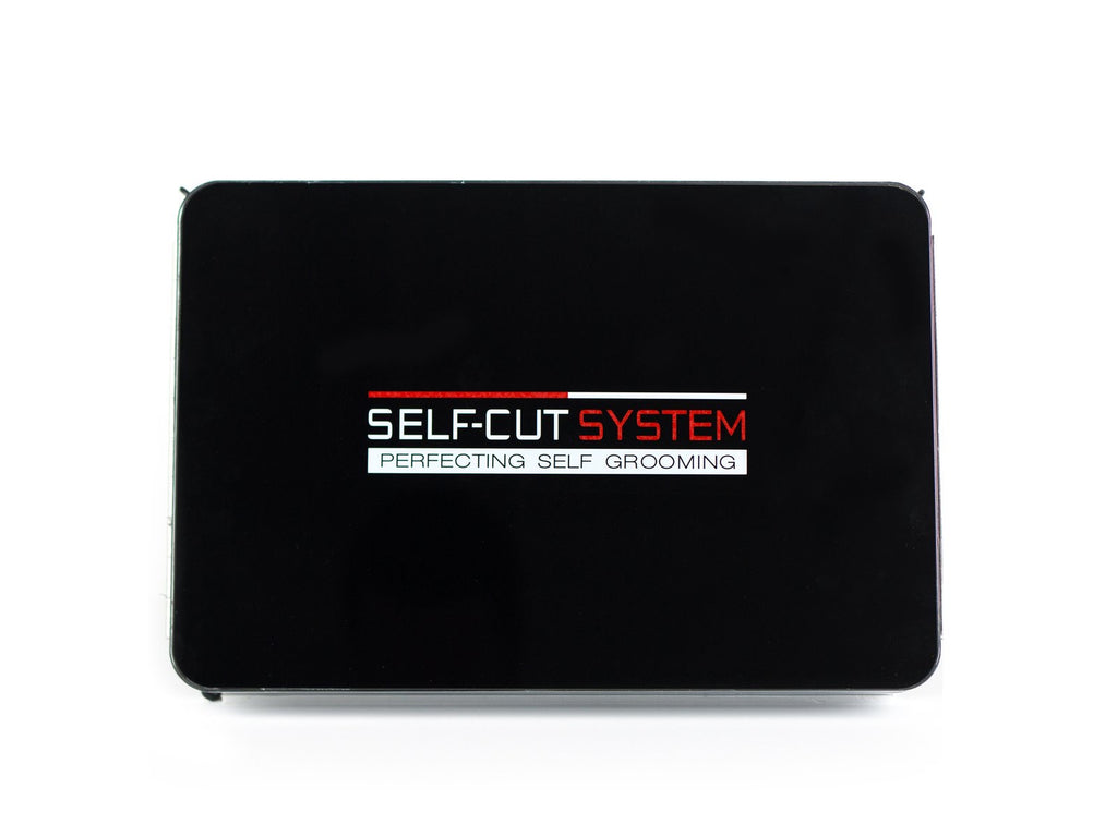 Self Cut System - Black Lambo 3 Way Mirror