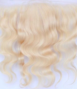 Russian Blonde Wavy Full Frontal