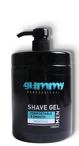 Gummy Shave Gel Menthol 1000ml