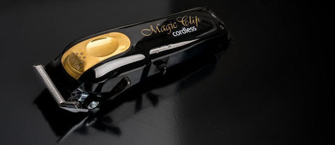 Image of WAHL Magic Clip Cordless Clipper Black&Gold (Limited Edition)