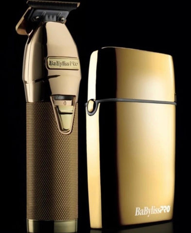 Babyliss Gold FX Trimmer and Shaver Bundle