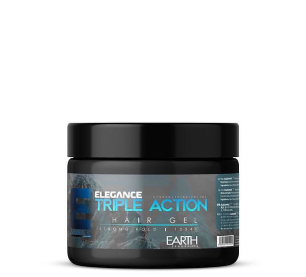 Elegance Triple Action Hair Gel (Strong Hold)