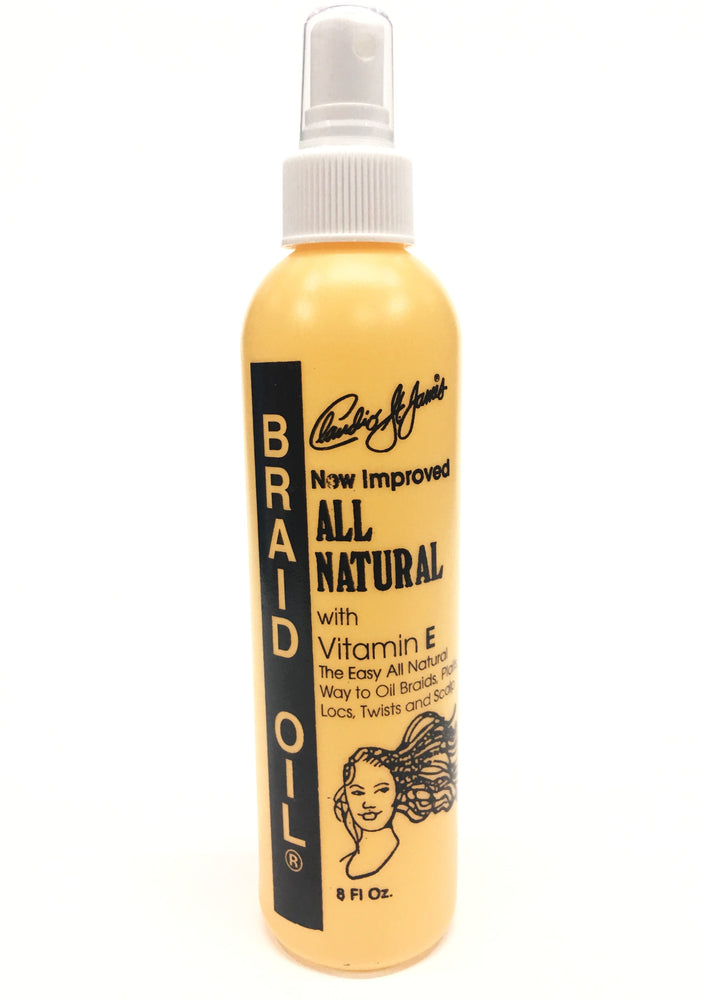 Braid Oil - Vitamin E