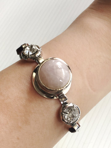 Interchangeable 3-in-1 Gemstone Ladies Bracelet