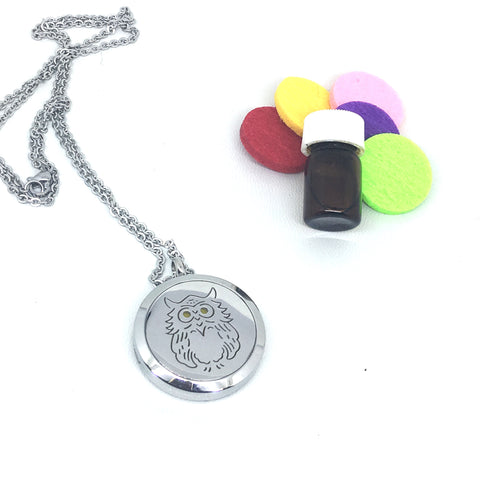 ON SALE Aromatherapy Locket Essential Oil Diffuser Necklace