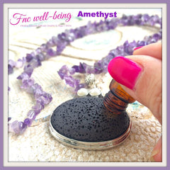 NK67 Aromatherapy Diffuser Long Necklace