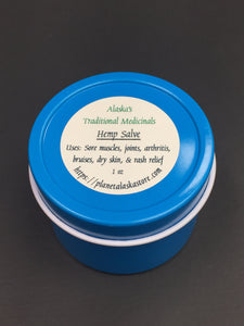 Hemp Salve with Devil's Club, Wormwood & Cottonwood