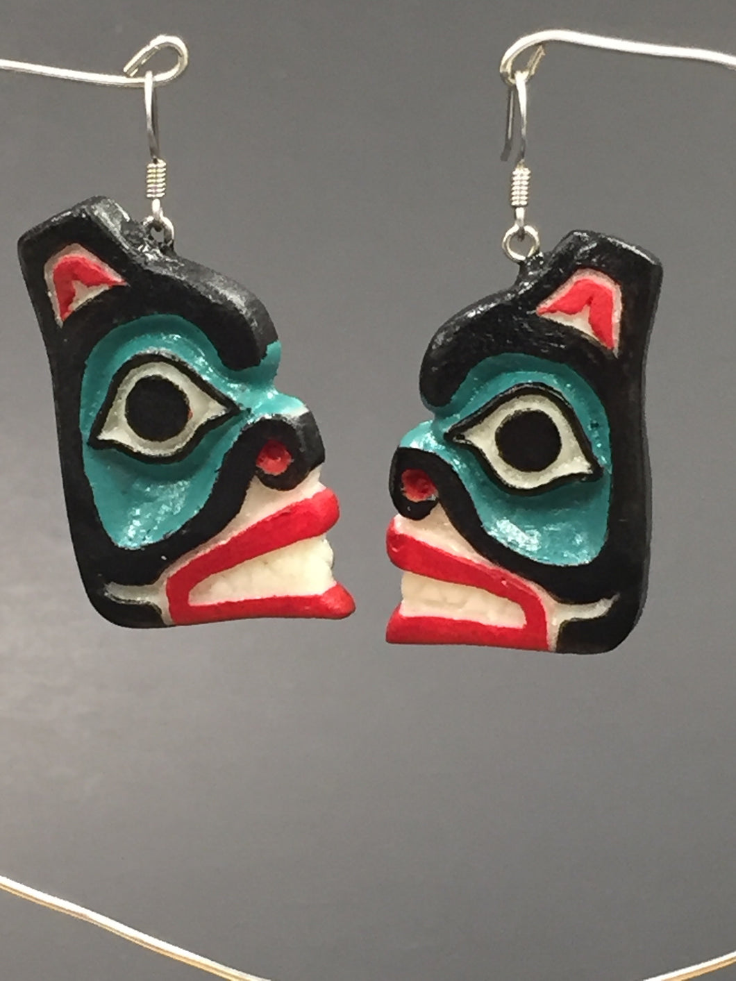Ray Peck Bear Earrings
