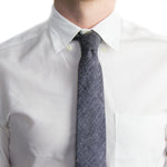 Black + White Tweed Tie | Forth and Nomad