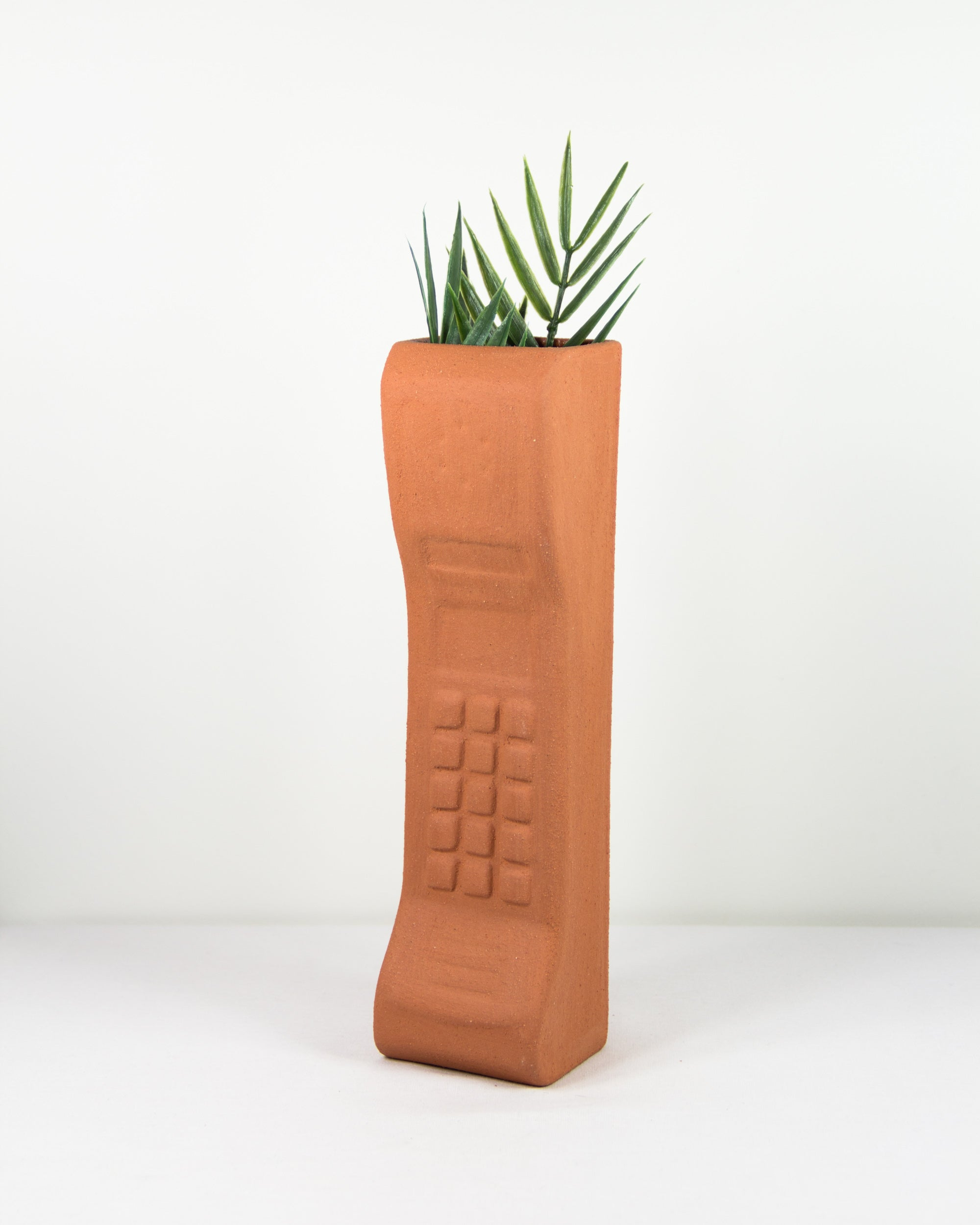 Brick Phone Planter