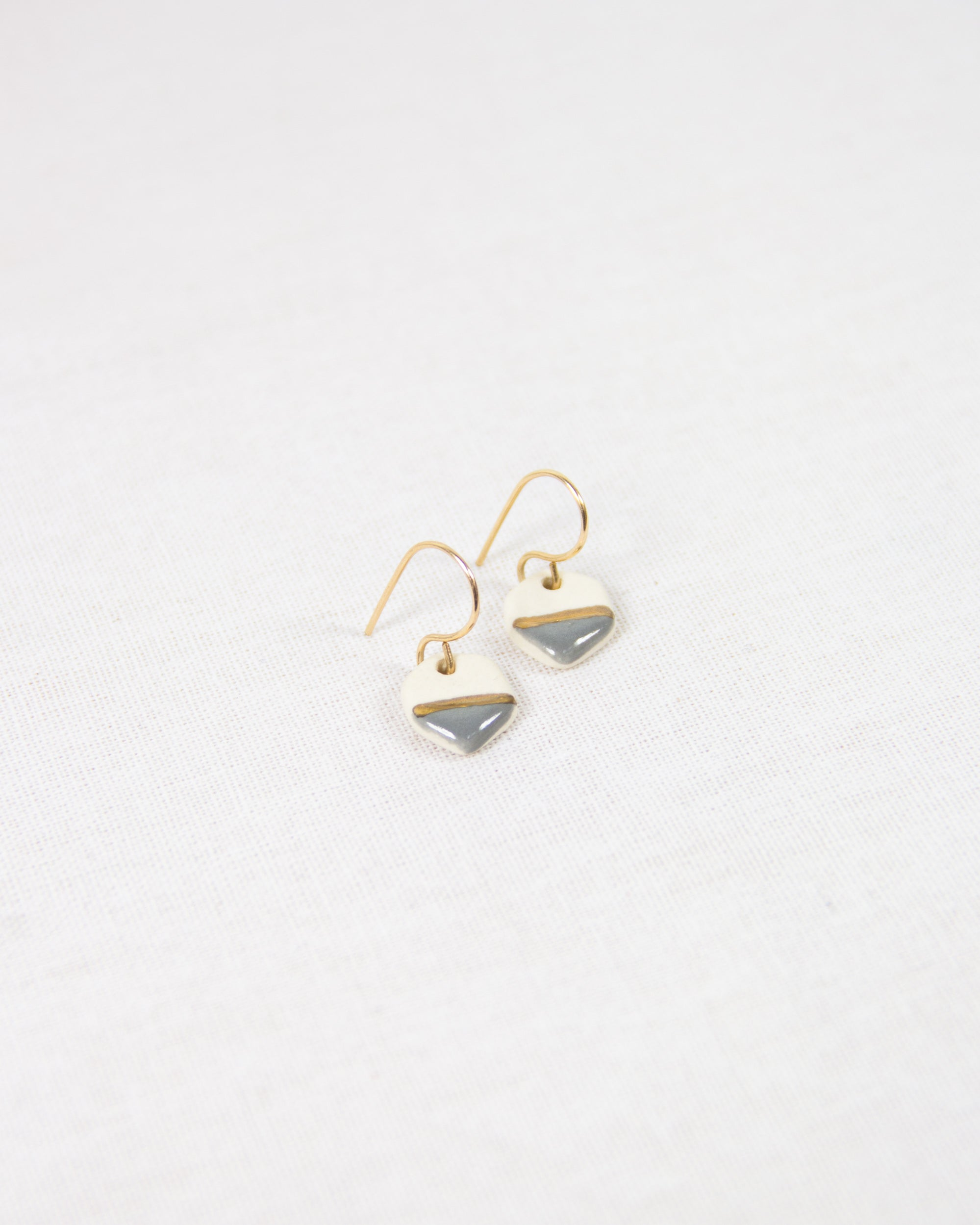 Tiny Geo Earrings